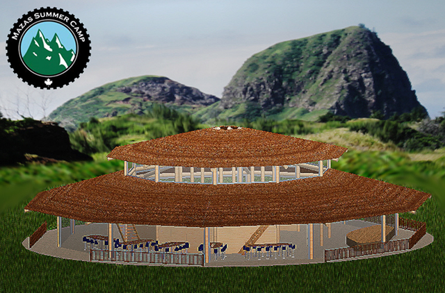 The Mazas Gazebo Early Concept